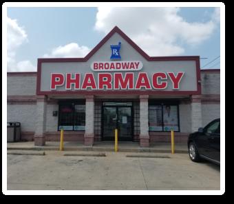 Outside look of Broadway Pharmacy
