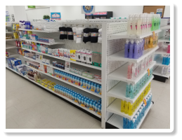 Other angle of some medicines inside Broadway Pharmacy